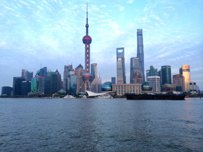 Wang Xiaoyang - Shanghai's financial centre from the view of the Bund
