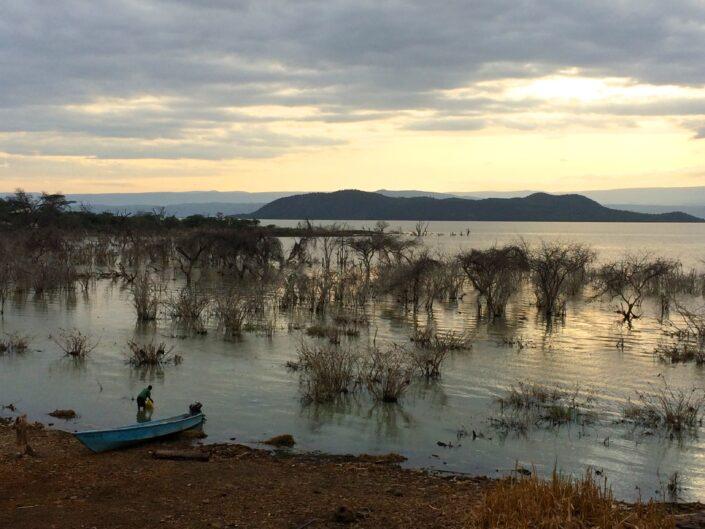 Johanna Koehler - Sunrise over Lake Baringo, Kenya