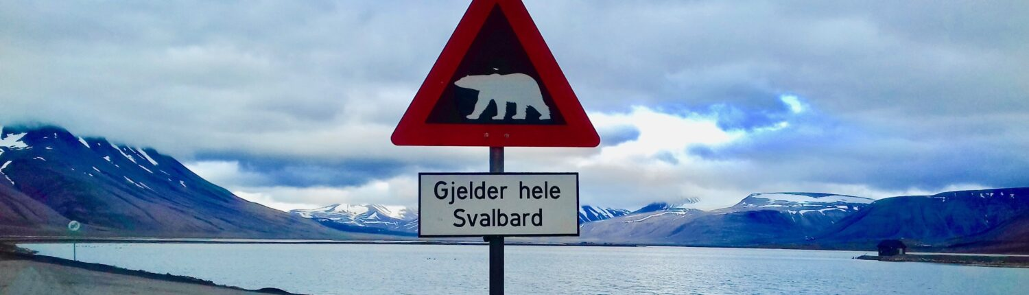 Eleanor Thomson - This warning applies to the whole of Svalbard