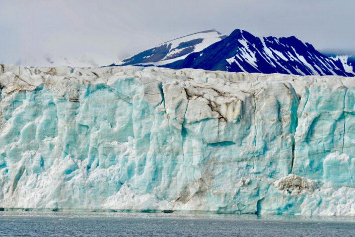 Eleanor Thomson - Nordenskiöld tidewater glacier,Svalbard